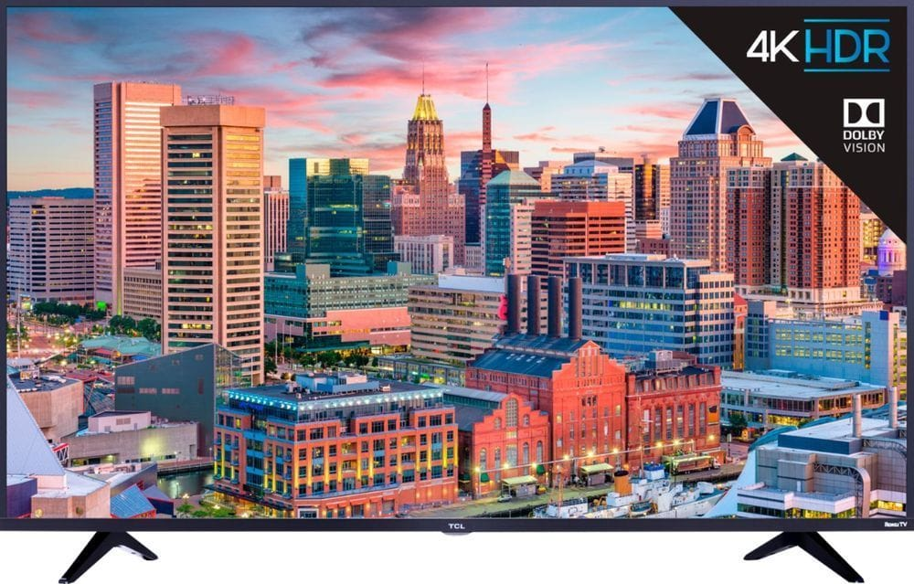 """43"""" TCL 43S515 4K UHD HDR Roku Smart LED HDTV w/ Dolby Vision (2018) $279.99, 49"""" $319.99 + Free Shipping @ eBay"""
