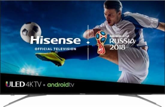 "55"" Hisense 55H9050E Plus 4K UHD HDR Dolby Vision 120Hz Android Smart LED HDTV (2018) $499.99 + Free Shipping @ Costco"
