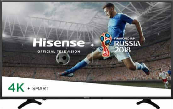 "55"" Hisense 55H8E H8 Series 4K UHD HDR Smart LED HDTV w/ Alexa (2018) $369.99 + Free Shipping @ Best Buy"