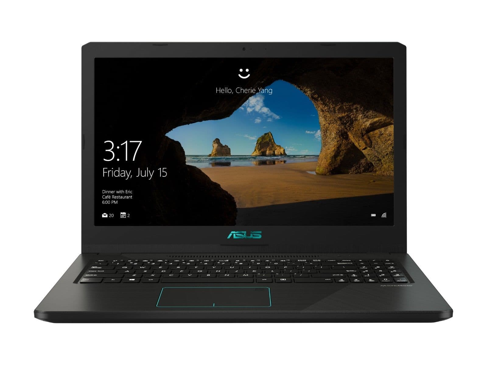 Asus Vivobook K570UD Laptop: Intel Core i5-8250U, 15.6'' 1080p, 8GB DDR4, 256GB SSD, GTX 1050 2GB, Type-C, WIn 10 $599 + Free Shipping @ eBay