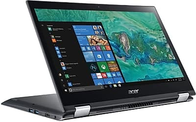 "Acer Spin 3 2-in-1 Laptop: Intel Core i5-8250U, 14"" 1080p IPS Touchscreen, 8GB DDR4, 256GB SSD, Win 10 $499.99 + Free Shipping @ Staples"