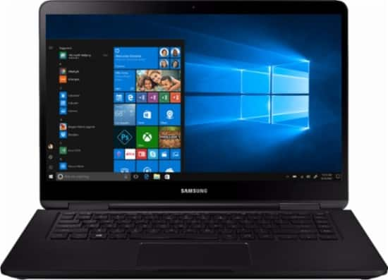 "Samsung Notebook 7 Spin 2-in-1 Laptop: Ryzen 5 2500U, 15.6"" 1080p Touchscreen, 8GB DDR4, 128GB SSD, Vega 8, Type-C, Win 10 $549.99 + Free Shipping @ Best Buy"