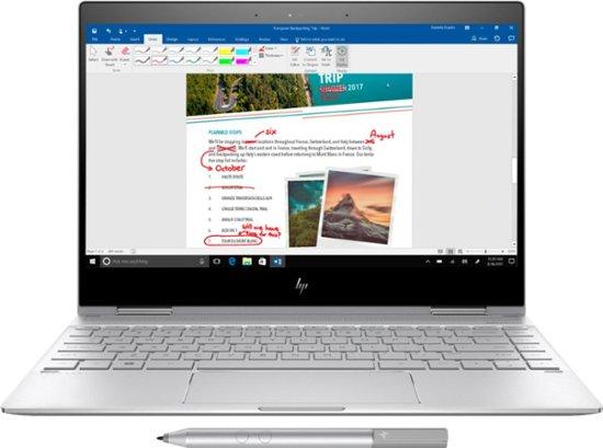 "HP Spectre x360 2-in-1 Laptop: Intel Core i7-8550U, 13.3"" 1080p IPS Touchscreen, 8GB DDR3, 256GB SSD, Thunderbolt 3, Win 10 $874.99 (Open Box $814) + Free Shipping @ Best Buy"