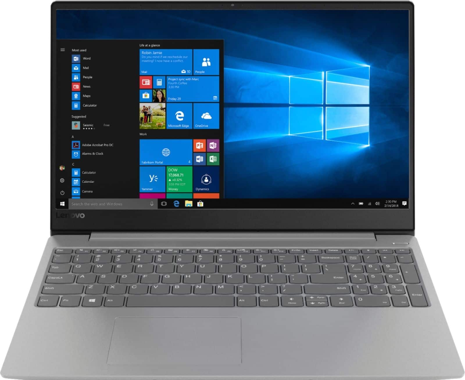 "Lenovo 330S Laptop: Intel Core i5-8250U, 15.6"" 1080p IPS, 8GB DDR4, 1TB HDD, Type-C, Win 10 $439.99 + Free Shipping @ Best Buy"