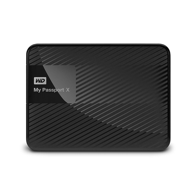 2TB WD My Passport X USB 3.0 Portable Hard Drive (Black) $44.99 + Free Shipping @ Best Buy