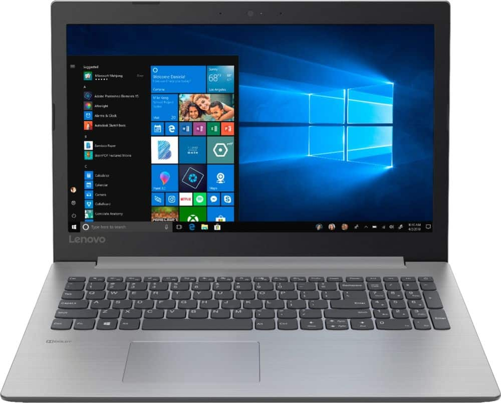 "Lenovo 330 15.6"" Laptop: Intel Pentium N5000, 4GB DDR4, 500GB HDD, Win 10 $199.99 + Free Shipping @ Best Buy"