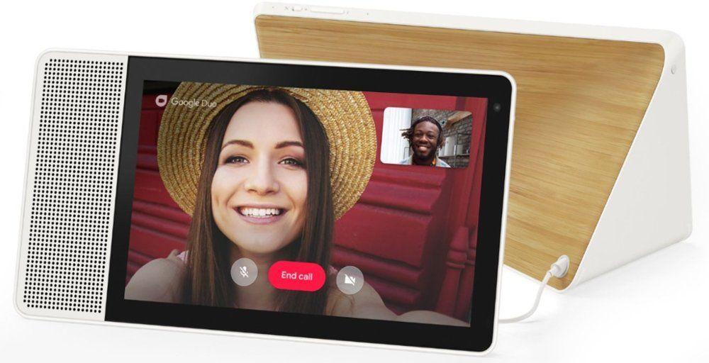 "Lenovo 10"" Smart Display w/ Google Assistant (Refurbished) $75.65 + Free Shipping @ eBay"
