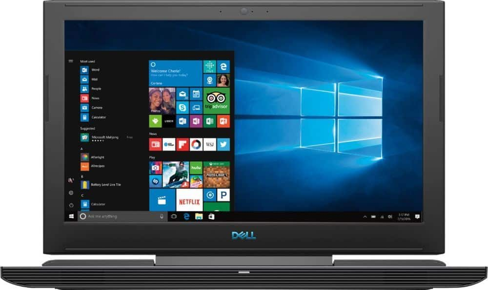 Dell G7 15 Laptop: Intel Core i7-8750H, 15.6'' 1080p IPS, 16GB DDR4, 128GB SSD + 1TB HDD, GTX 1060, Thunderbolt 3, Win 10 $999.99 or less & More + Free Shipping @ Best Buy
