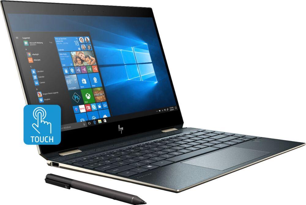 "HP Spectre x360 2-in-1 Laptop: Intel Core i7-8565U, 13.3"" 4K IPS Touchscreen, 16GB DDR4, 512GB SSD, Thunderbolt 3, Win 10 $1049.99 + Free Shipping @ Best Buy"