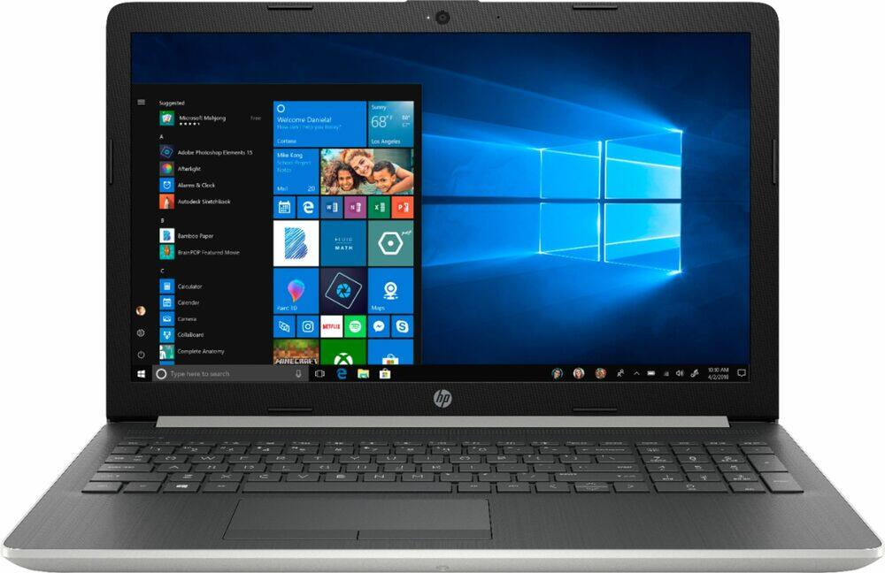 "HP 15.6"" Touchscreen Laptop: Ryzen 5 3500U, 8GB DDR4, 128GB SSD, Vega 8, Win 10 $329.99 + Free Shipping @ Best Buy"