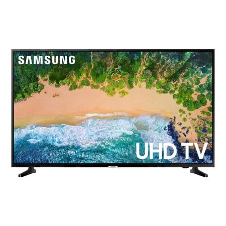 "40"" Samsung UN40NU6070 4K UHD HDR Smart LED HDTV $228 + Free Shipping @ Walmart"