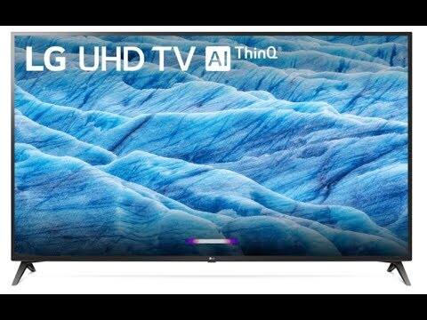 "70"" LG 70UM7370PUA 4K UHD HDR Smart LED HDTV w/ AI ThinQ (2019 Model) + $300 Dell eGift Card $1099 + Free Shipping @ Dell"