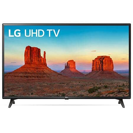"49"" LG 49UK6090PUA 4K UHD HDR Smart LED HDTV $239 + Free Shipping @ Sam's Club"