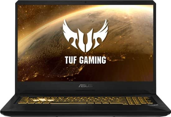 "Asus TUF FX705DT Laptop: Ryzen 7 3750H, 17.3"" 1080p, 8GB DDR4, 512GB SSD, GTX 1650, Win 10 $849.99 & More + Free Shipping @ Best Buy"