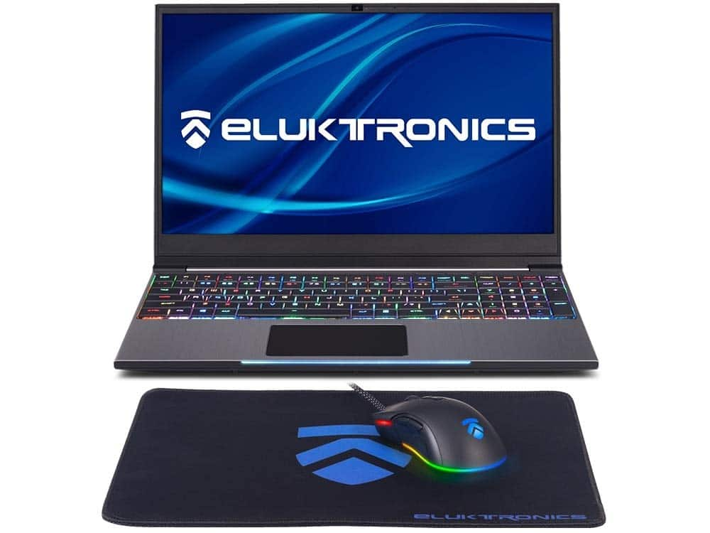 "ad815b32d6e2 Eluktronics MECH-15 G2Rx Gaming Laptop: Intel i7-9750H, 15.6"" 1080p ..."
