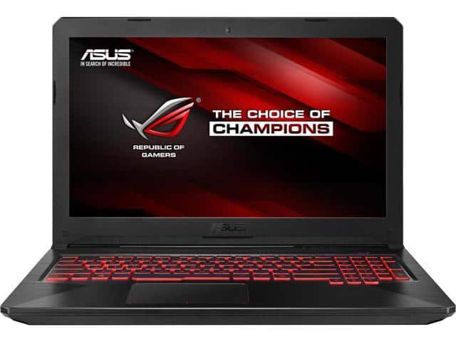 "Asus TUF FX504 Laptop: Intel Core i5-8300H, 15.6"" 1080p IPS, 8GB DDR4, 256GB SSD, GTX 1050 4GB, Win 10 $579 AC + Free Shipping @ Newegg"