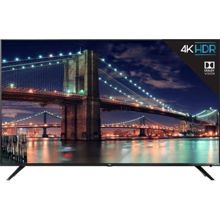 "55"" TCL 55R617 4K UHD HDR Roku Smart LED HDTV (Refurbished) $349.99 + Free Shipping @ Walmart"