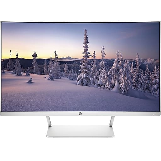 """27"""" HP HP27SC1 1080p Curved LED Monitor $139.99 AC + Free Shipping @ Staples"""