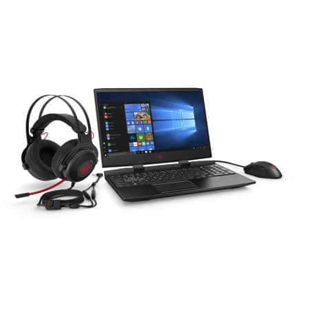 "HP Omen Laptop: Intel Core i7-9750H, 15.6"" 1080p 144Hz IPS, 16GB DDR4, 256GB SSD, GTX 1660 Ti, Win 10 + Omen Headset & Mouse Bundle $1099.99 + Free Shipping @ Walmart"