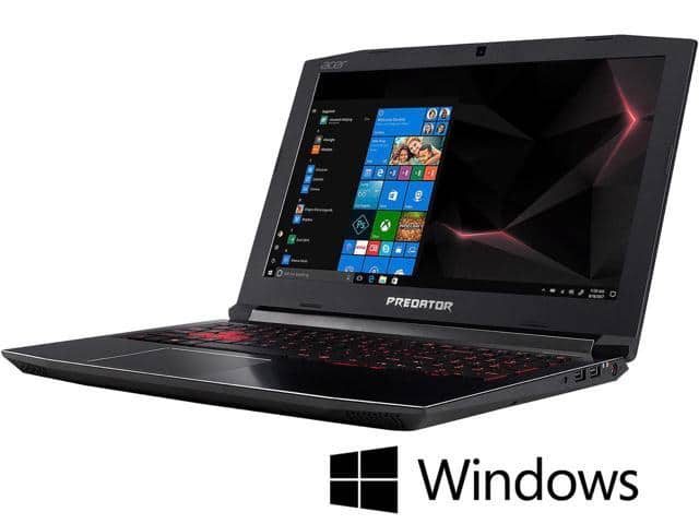 "Acer Predator Helios 300 Laptop: Intel Core i7-8750H, 15.6"" 1080p 144Hz IPS, 8GB DDR4, 1TB HDD, GTX 1060, Win 10  $799.99 + Free Shipping @ Newegg"