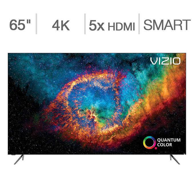 "Costco Members: 65"" Vizio PX65-G1 Quantum X 4K UHD HDR Smart LED HDTV $999.99 + Free Shipping"