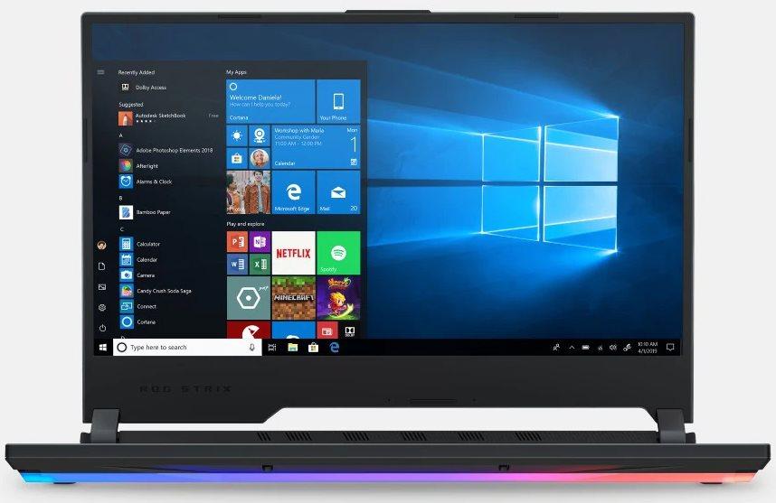 "Asus ROG Strix G GL531GT Laptop: Intel Core i7-9750H, 15.6"" 1080p 120Hz, 16GB DDR4, 256GB SSD, GTX 1650, Win 10 $799 + Free Shipping @ Microsoft Store"