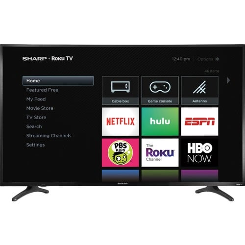 "50"" Sharp LC-50LBU711U 4K UHD HDR Roku Smart HDTV $229.99 + Free Shipping @ Best Buy"