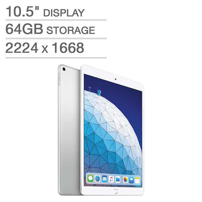 "64GB 10.5"" Apple iPad Air WiFi Tablet (Latest Model) $399.99 + Shipping @ Costco"