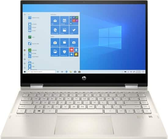 "HP Pavilion x360 2-in-1 Laptop: Intel Core i5-1035G1, 14"" 1080p IPS Touchscreen, 8GB DDR4, 256GB SSD, Win 10 $499.99 w/ EDU Discount + Free Shipping @ Best Buy"