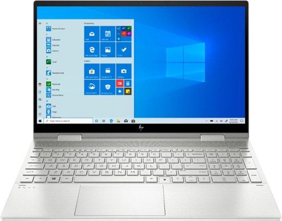 "HP Envy x360 2-in-1 Laptop: Intel Core i5-1035G1, 15.6"" 1080p IPS Touchscreen, 8GB DDR4, 256GB SSD, Type-C, Win 10 $599.99 w/ EDU Discount + Free Shipping @ Best Buy"