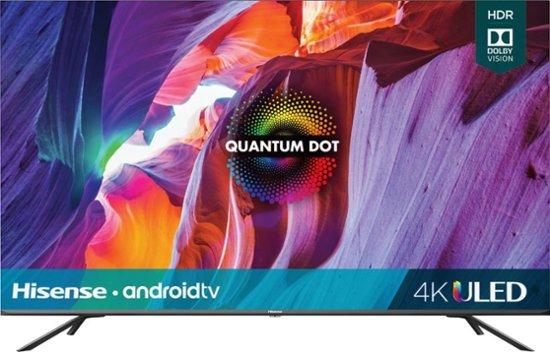 "50"" Hisense 50H8G Quantum Series 4K UHD HDR Android Smart LED HDTV (2020 Model) $349.99 + Free Shipping @ Best Buy"