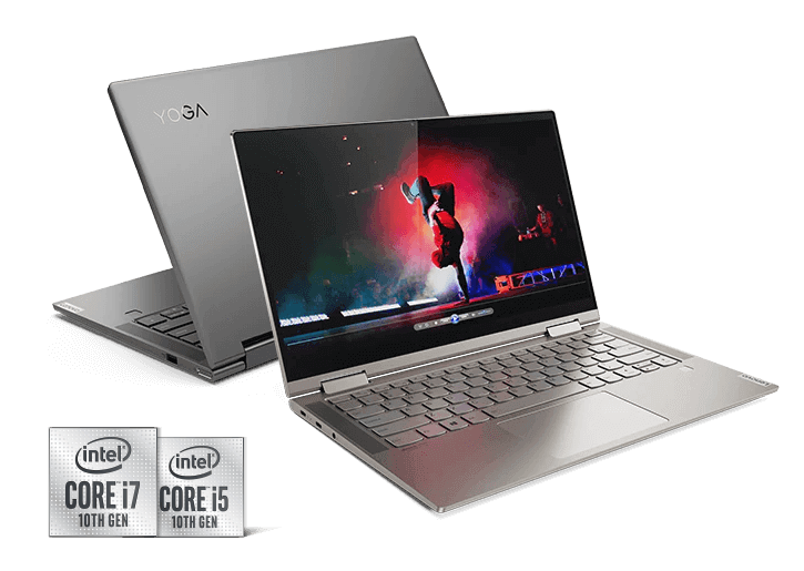 "Lenovo Yoga C740 Laptop: Intel Core i7-10510U, 14"" 1080p IPS Touchscreen, 16GB DDR4, 1TB SSD, Win 10 Pro $899.99 AC + Free Shipping @ Lenovo"