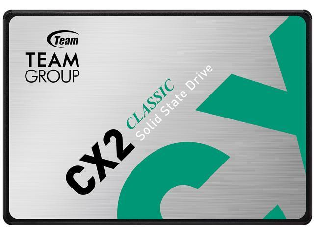 "512GB Team Group CX2 2.5"" SATA III 3D NAND Internal Solid State Drive $40.99 + Free Shipping @ Newegg"