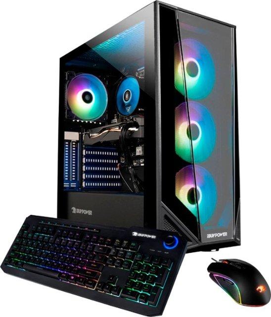iBuyPower Gaming Desktop: Intel Core i5-10400F, 8GB DDR4, 240GB SSD, 1TB HDD, GTX 1650 $579.99 & More @ Best Buy