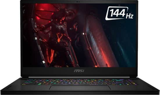 "MSI GS66 Stealth Laptop: Intel Core i7-10750H, 15.6"" 1080p 144Hz, 16GB DDR4, 512GB SSD, RTX 2060, Thunderbolt 3 $1199.99 + Free Shipping @ Best Buy"