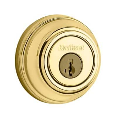 Kwikset 980 Single Cylinder Deadbolt  --HOUSE    a Consumer Reports best buy   $15.77