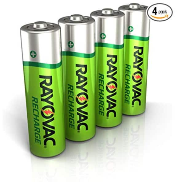 Rayovac Rechargeable AA Batteries $5.49  --FREE Prime member shipping--or FREE shipping with over $25 purchase