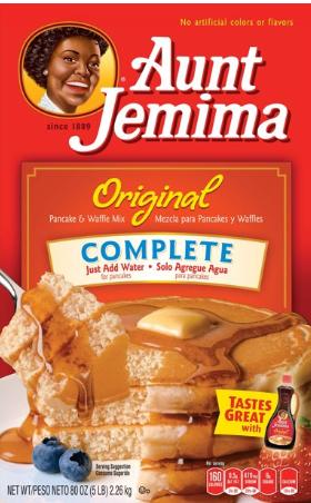Aunt Jemima Original Complete Pancake Waffle Mix, 80 oz Box $4.99