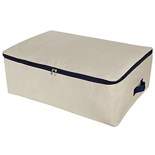 Lifewit Foldable Storage Bags Under Bed Fabric Bag with Handles for Comforters, Blanket, Clothes $8.90