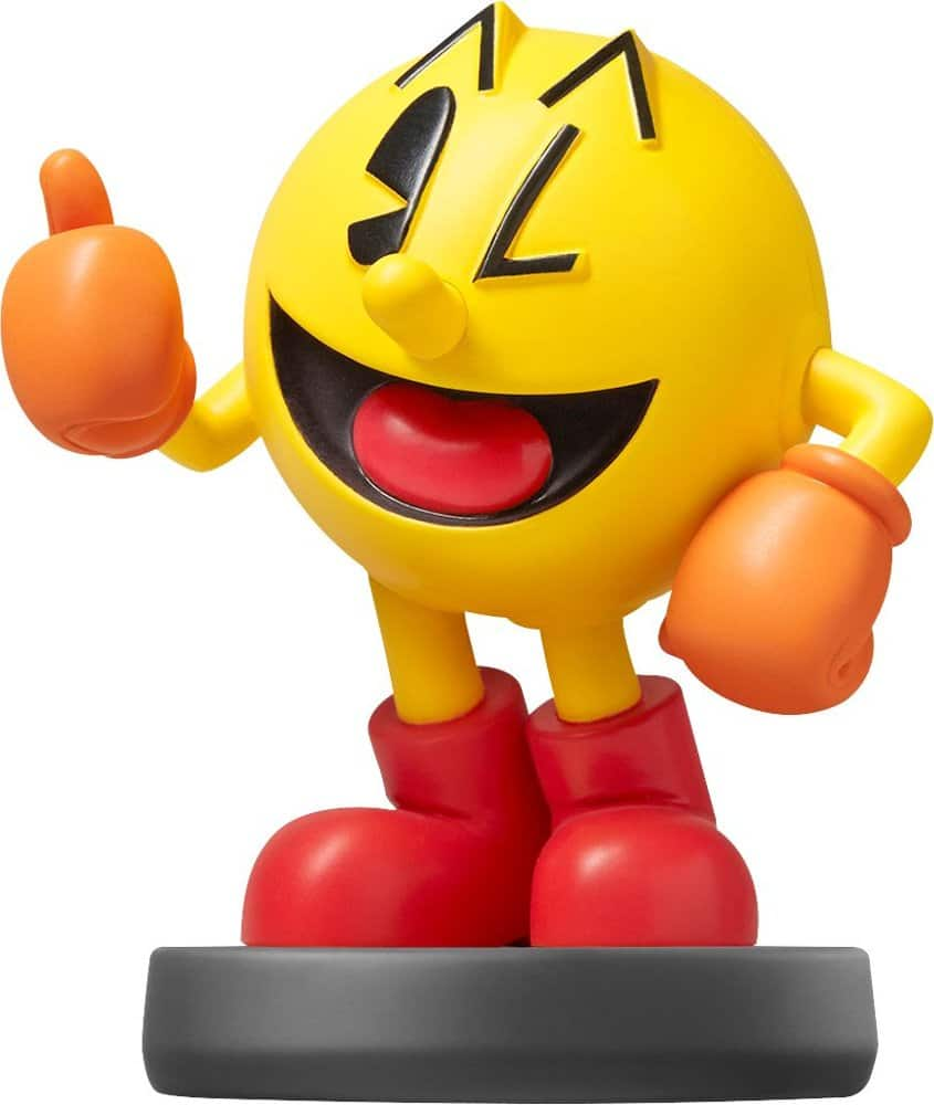 Nintendo - PAC-MAN amiibo Figure (Super Smash Bros. Series) $9.99 ($7.99 GCU) at Best Buy Plus Animal Crossing amiibo's on clearance