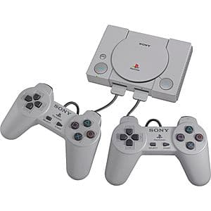 best buy sony playstation classic console (20 pre-installed games) & 2  controllers