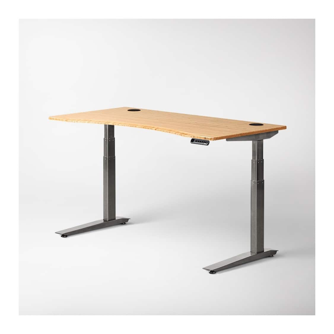 Outstanding Fully Jarvis Bamboo Standing Desk 345 Slickdeals Net Gmtry Best Dining Table And Chair Ideas Images Gmtryco