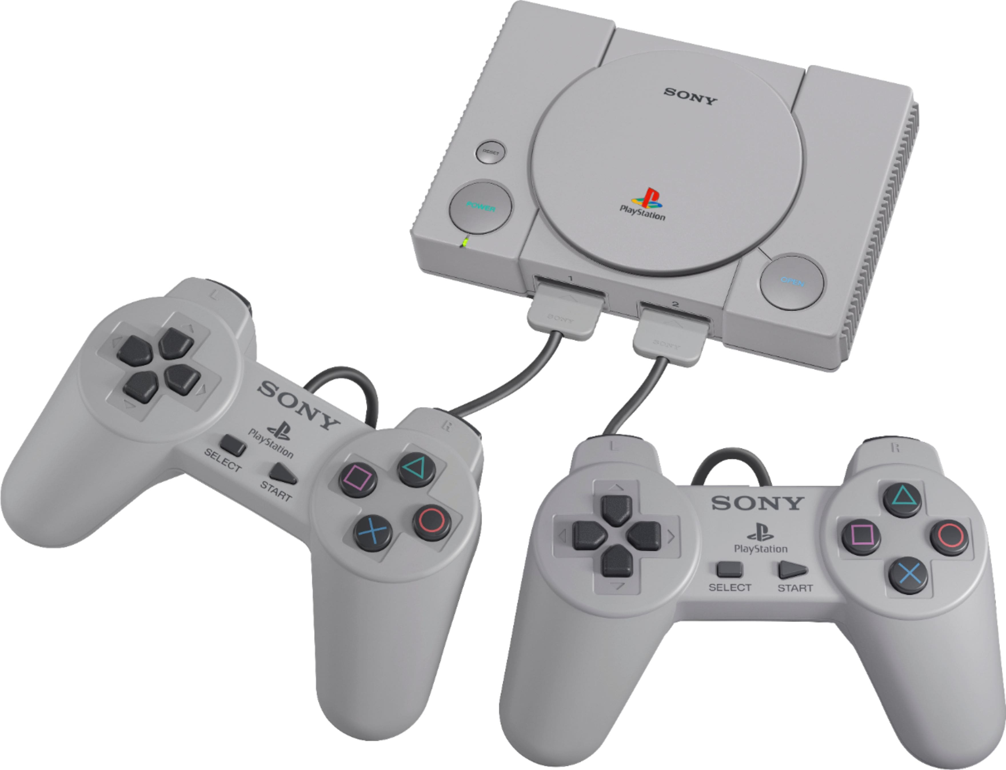 Sony PlayStation Classic Console (20 Pre-Installed Games