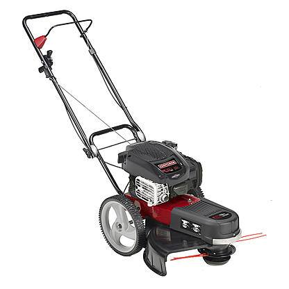 """Craftsman 77674 High Wheel 4-Cycle 22"""" Gas Trimmer - Walk behind with free shipping $269 or less"""