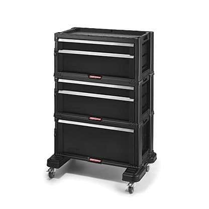 Craftsman Stackable Plastic Storage Chest System $64.99 @ Sears with free shipping