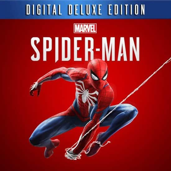 spider man ps4 deluxe edition discount code