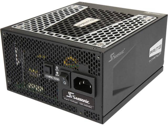 Seasonic PRIME Ultra 850W and 650W 80+ Titanium PSUs $195