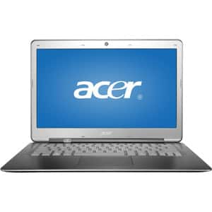 "Acer Ultrabook Silver 13.3"" S3-391-6046 PC with Intel Core i3-2367M processor and Windows 8  $449"