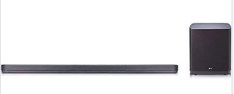 LG SJ9 5.1.2-Channel Sound Bar w/ Wireless Subwoofer & Dolby Atmos $399 + Free Shipping Back In Stock!
