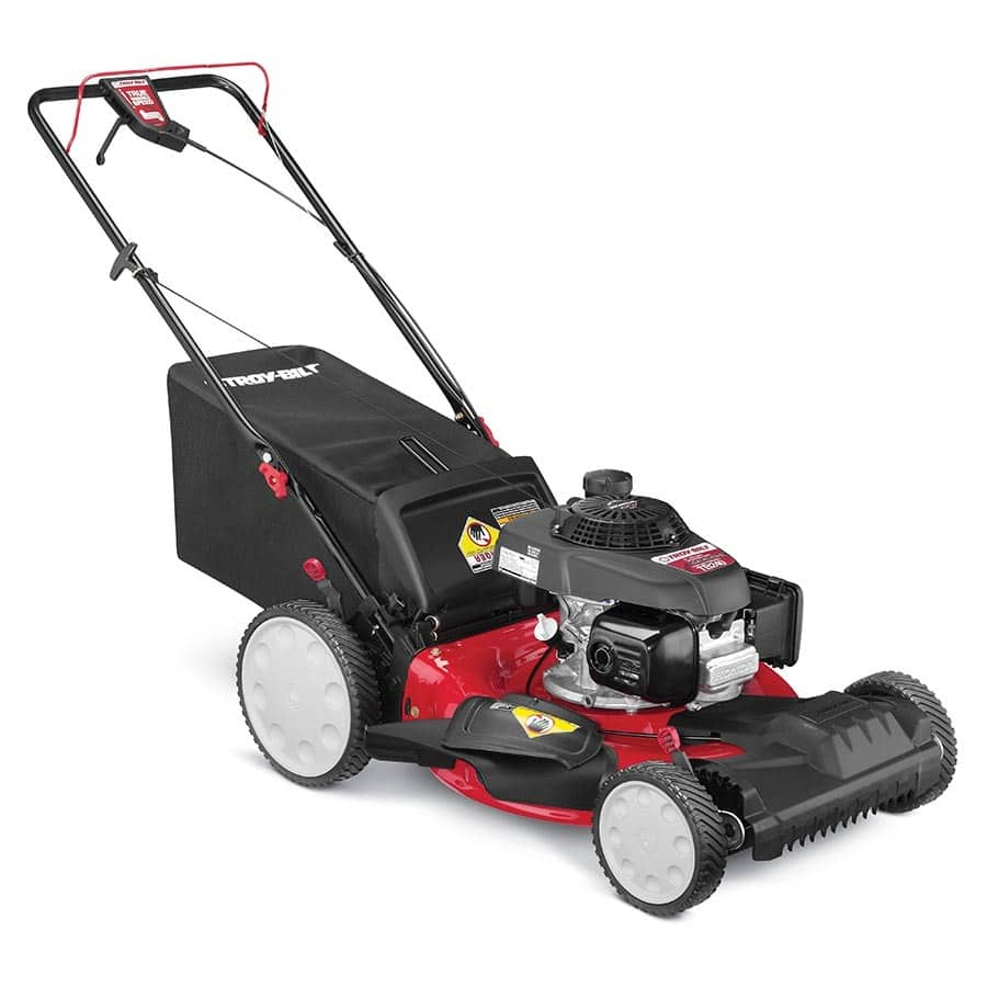 Troy-Bilt TB240 160-cc 21-in Self-propelled Front Wheel Drive Gas Lawn Mower with Honda Engine $299